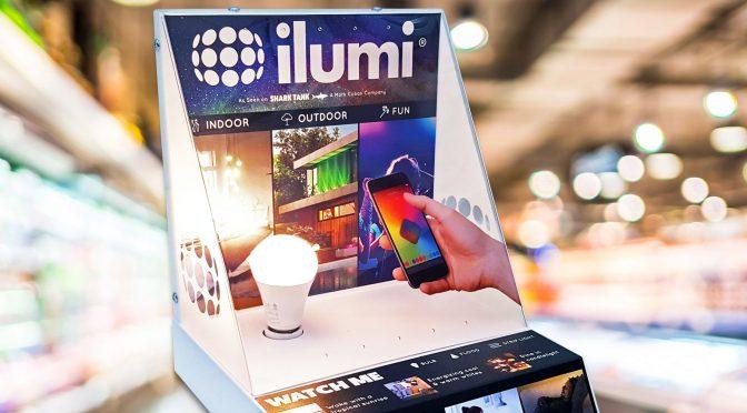 POP Design – ilumi® LED Smartbulbs, enlightens the IoT market at retail.