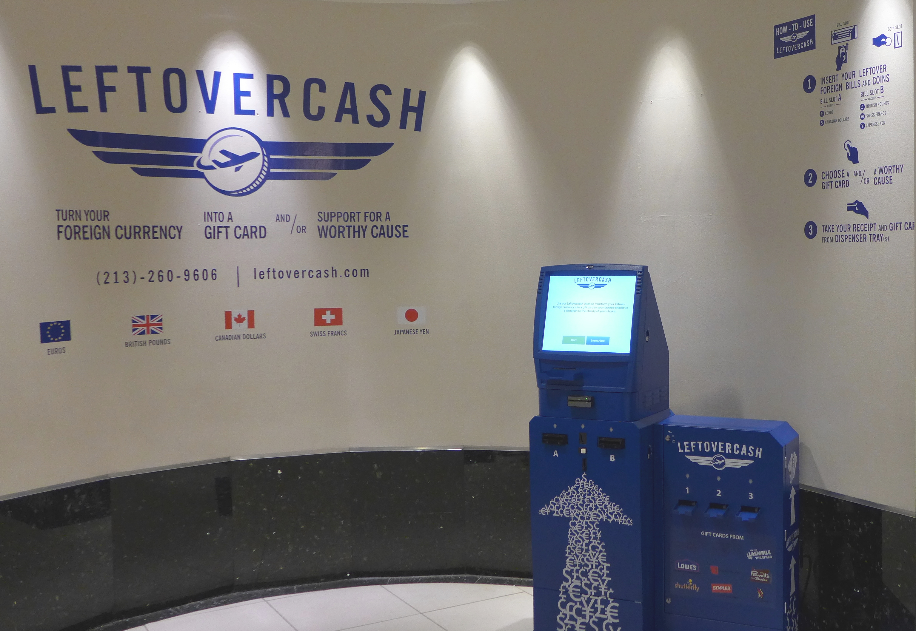 cash recycling kiosk