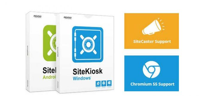 Kiosk Content Management System released Windows & Android