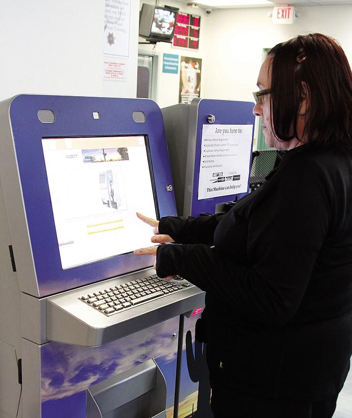 DMV kiosk