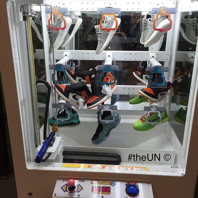sneaker vending kiosk